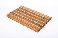Кухонная разделочная доска классическая из ясеня 25х40х3 см, фото 1