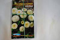 Семена Цветы Маргаритка садовая белая (многолетник)