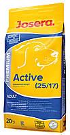 Josera Premium Active сухой корм для активных собак, 20 кг