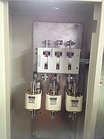Ящик ЯРП-400 BILMAX IP 31 Укомплектований рубильниками і запобіжниками BILMAX