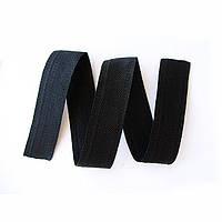 Обтачка сумочная 23мм чёрная