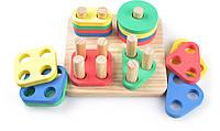 Деревянная игрушка МДИ Логический квадрат (Д020)