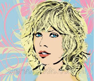 Портрет в стиле поп арт