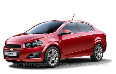Брызговики модельные Chevrolet Aveo sedan 2012- (Лада Локер)