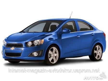 Брызговики оригинальные Chevrolet Aveo sedan 2012- (AVTM) комплект 4-шт.