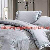 Турмалиновое шелковое постельное белье с серебряной нитью Вековой Восток, фото 1
