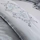 Турмалиновое шелковое постельное белье с серебряной нитью Вековой Восток, фото 2