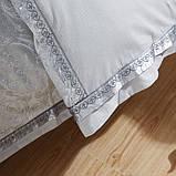 Турмалиновое шелковое постельное белье с серебряной нитью Вековой Восток, фото 4