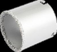 Сверло для плитки с вольфрамовым напылением 33х55 мм., VERTO 60H902