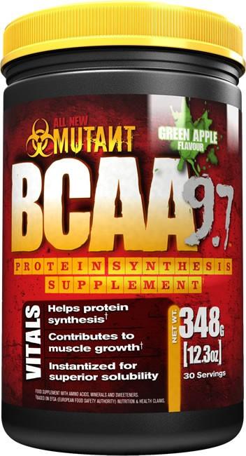 BCAA - Лейцин, Изолейцин, Валин Mutant Mutant bcaa 348 г  арбуз