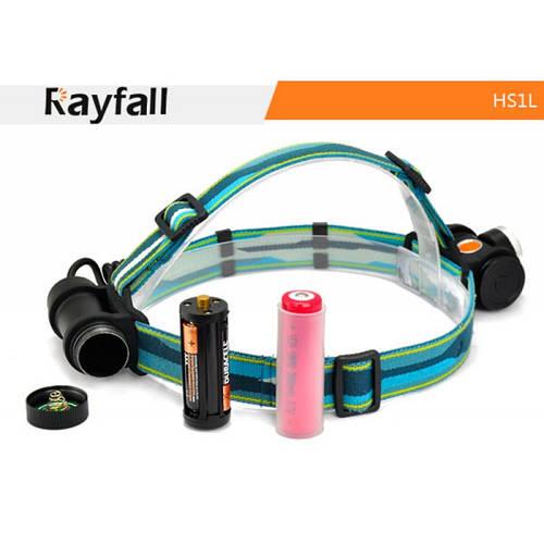 Фонарь налобный Rayfall HS1L (Cree XM-L, 550 люмен, 4 режима, 1х18650/3хААА), фото 2