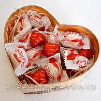 """Подарок из конфет """"Сердце к 14 февраля"""", фото 2"""