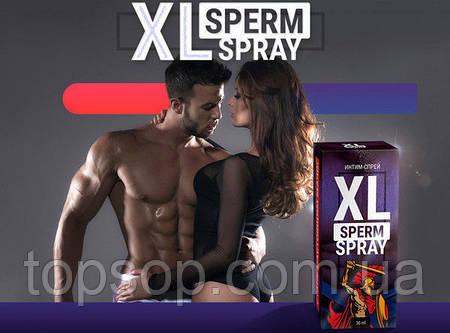 XL SPERM SPRAY - Мужсккая сила (Сперм Спрей),Спрей для увеличения члена и количества спермы XL