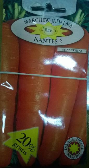 Морква Нантес 2   5г  (Roltico)