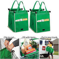 Сумка для Покупок в Супермаркетах Cart Bag Snap-on-Cart Shopping Bag