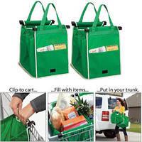 Сумка для Покупок в Супермаркетах Cart Bag Snap-on-Cart Shopping Bag