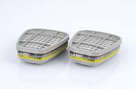 Фильтр угольный 6057 ABE1 для масок и полумасок 3М