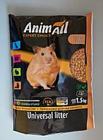 Animal древесный наполнитель для грызунов, кошек и птиц 1.5 кг.