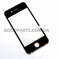 Стекло для iPhone 4 черный (Оригинал)