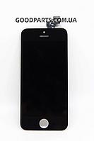 Дисплей с тачскрином для iPhone 5 черный (Оригинал)