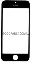 Стекло для iPhone 5, 5S, 5C черный high copy