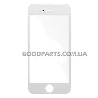 Стекло для iPhone 5, 5S, 5C белый high copy