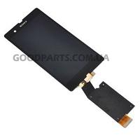 Дисплей для Sony C6602 L36h Xperia Z, C6603 L36i Xperia Z, C6606 L36a Xperia Z черный (Оригинал)