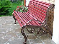 Скамейки садовые чугунные, фото 1