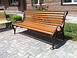 Скамейки садовые чугунные, фото 3