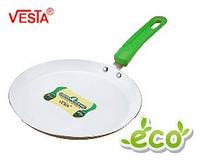 Алюминиевая сковорода блинная с керамическим покрытием  BG-5523c appie   23см  Производитель Vesta.