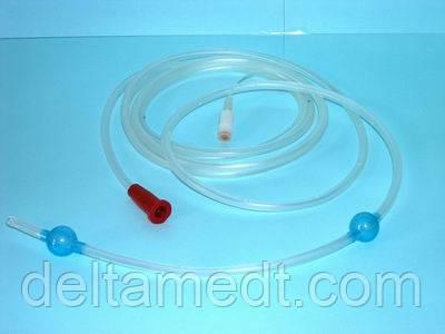 Зонд интубационный для дренирования тонкого кишечника (трасназальный) с подвижным защитным чехлом