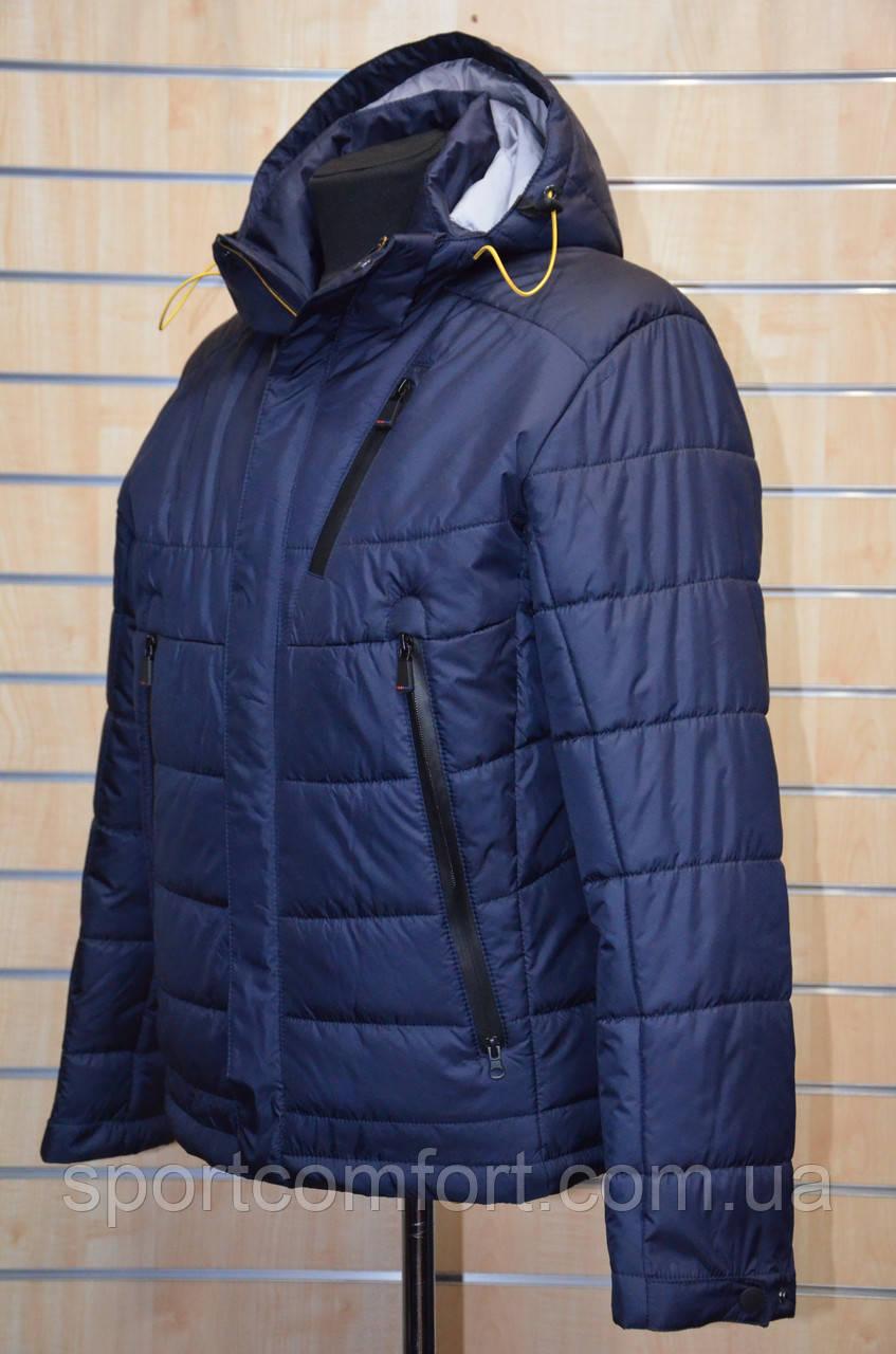 Весенняя куртка Snow Bears т. синяя 1611