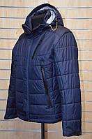 Весенняя куртка Snow Bears т. синяя 1611, фото 1