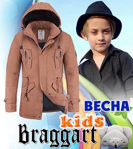 Стильная курточка для девочек осень-весна 10