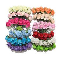 Цветы мелкие для скрапбукинга и декора