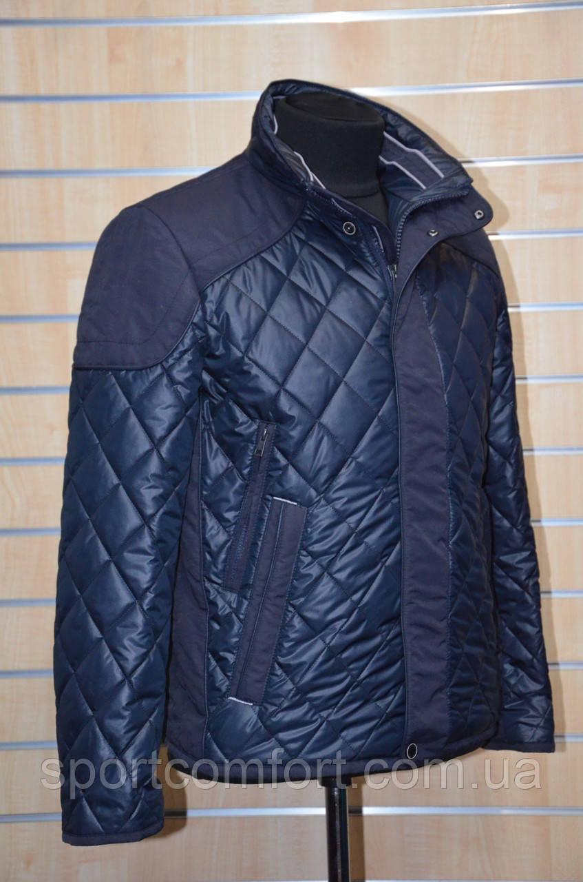 Куртка весенняя Snow Bear т. синяя 1610