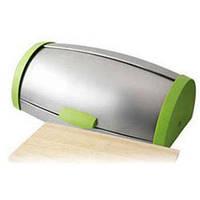 Хлебница с нержавеющей стали и разделочной доской. Эксклюзивный дизайн.Высококачественная нержавеющая сталь.BG