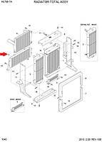 Радиатор трансмиссии 11LH-30340 для Hyundai HL780