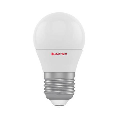Светодиодная лампа Electrum D45 6W 4000К, фото 2