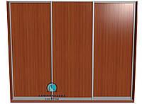 Система купе для самостоятельной сборки. Ручка АА114. Габариты 3000(Ш) х 2500(В) 3 двери ДСП