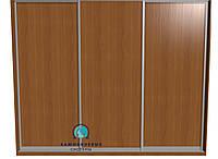 Раздвижная система для сборки шкафа купе. Ручка А107. Габариты 3000(Ш) х 2200(В) 3 двери ДСП