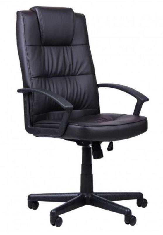 Кресло Атлас HB механизм MB кожзаменитель PU чёрный.
