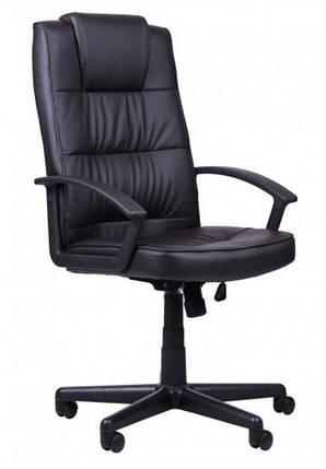 Кресло Атлас HB механизм MB кожзаменитель PU чёрный., фото 2