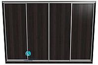 Шкаф-купе. Конструктор для сборки раздвижной системы на 4 двери ДСП. Ручка А119. Габариты 3600(Ш) х 2500(В), фото 1