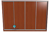 Раздвижная система для сборки шкафа купе на 4 двери.  Ручка АА114. Габариты 3600(Ш) х 2200(В), фото 1