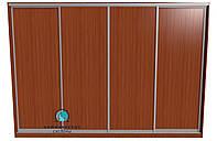 Раздвижная система для сборки шкафа купе на 4 двери. Ручка АА114. Габариты 3600(Ш) х 2500(В), фото 1