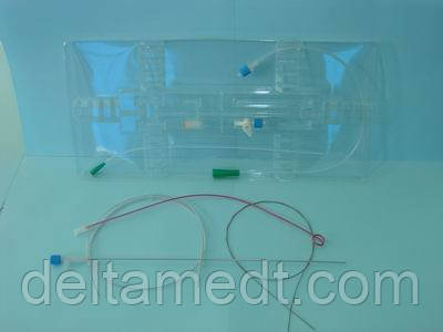 "Набор для нефростомии (катетер на игле Хиба . Заточка  ""Back Bevel"")катетер диаметром 2,6 мм"