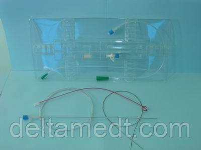 "Набор для нефростомии (катетер на игле Хиба . Заточка  ""Back Bevel"")катетер диаметром 3 мм"