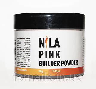 Nila Пудра акриловая розовая Pink Builder,60 гр