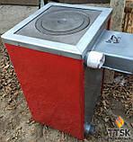 Котли твердопаливні для пироготовления їжі CARBON ( Карбон) КСТО 18 П Котел-плита, фото 3